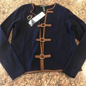 Lauren Ralph Lauren navy cardigan